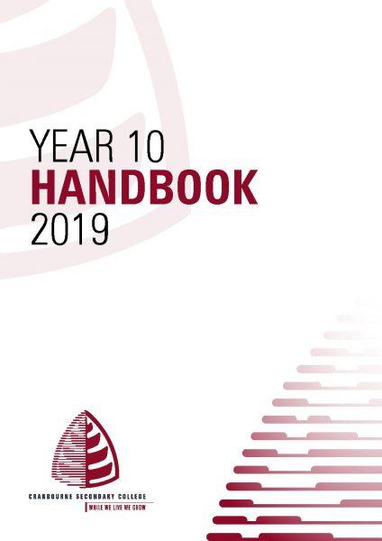 Year 10 Handbook 2019