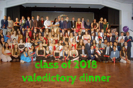 Class of 2018 Valedictory Dinner