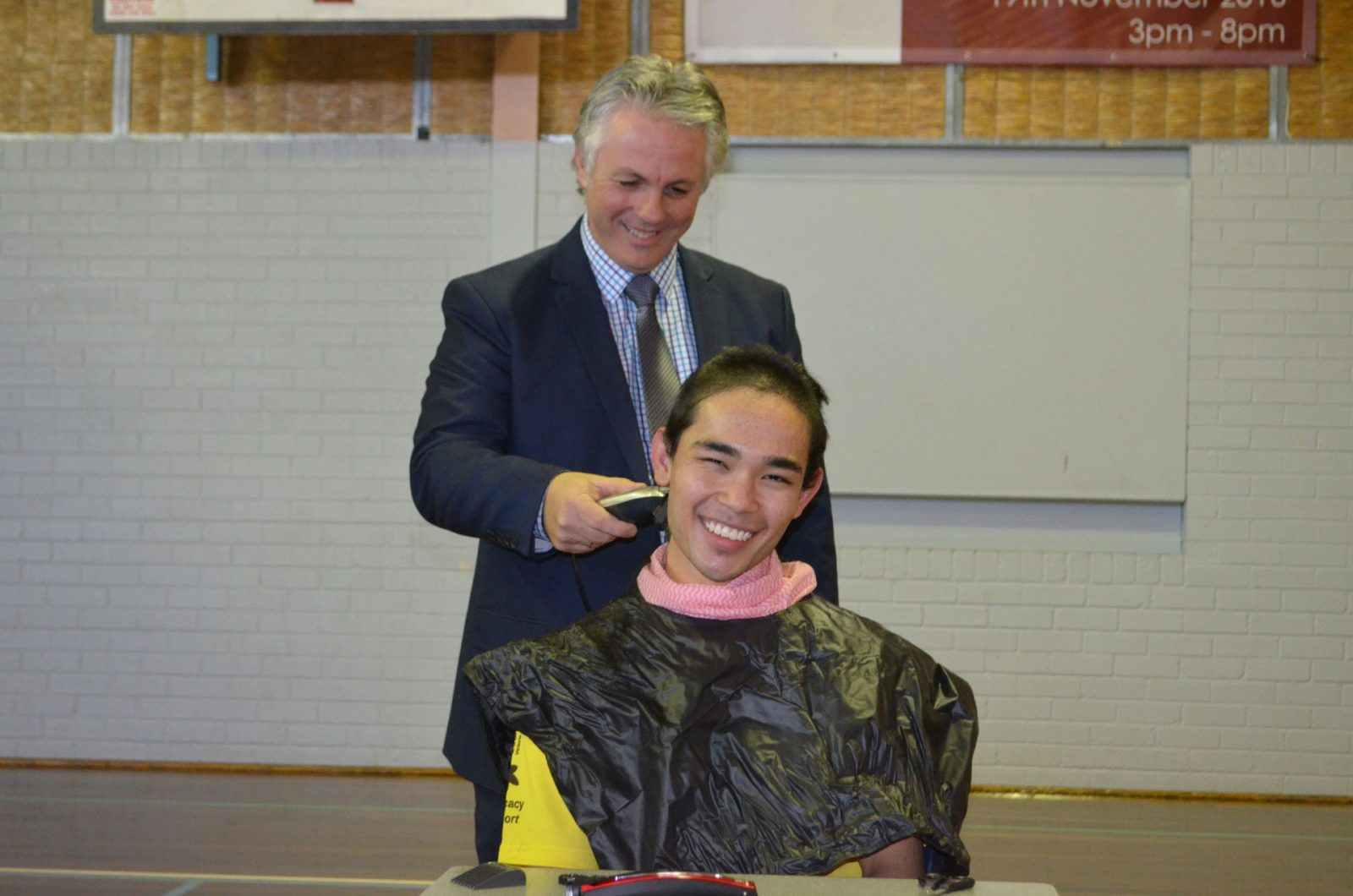 Shave for a cure