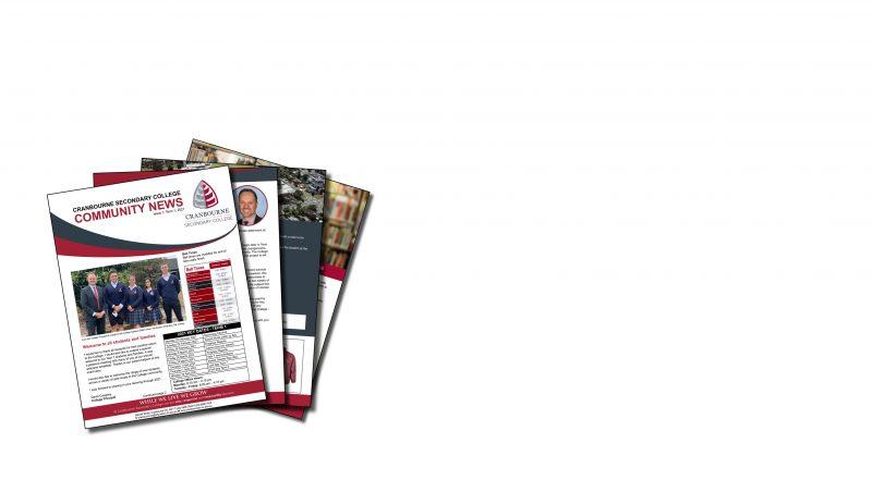 Community News  - School Newsletter Issue 1