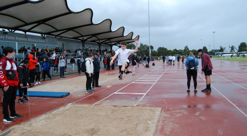 Athletics Day Event Results