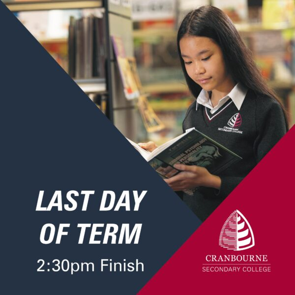 Last Day of Term 3