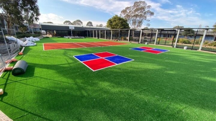 College Grounds upgrades1